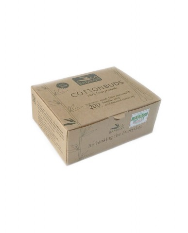 GO BAMBOO Cotton Buds - 200