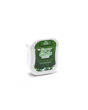 Spry Natural Xylitol Spearmint Gems - Container