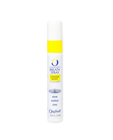 Oxyfresh Lemon-Mint Breath Spray 7.5ml