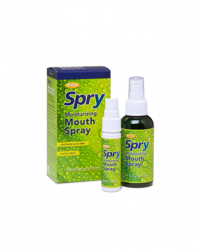 Spry Natural Xylitol Moisturising Mouth Spray