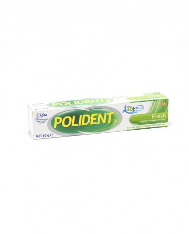 Polident Fresh Mint Denture Adhesive Cream