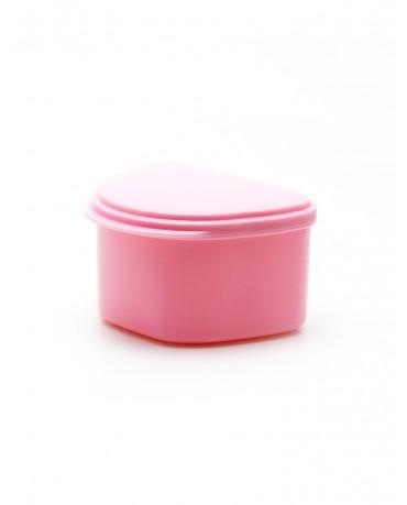 Denture Case/Bath - Pink
