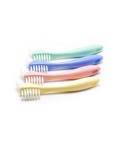 Luxident Denture Brush Soft - Pastel Blue