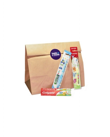 Health E-Mouth - Baby 0-2 Years Toothbrushes + Toothpaste Pack