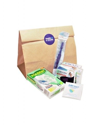 Health E-Mouth - Denture Care Pack