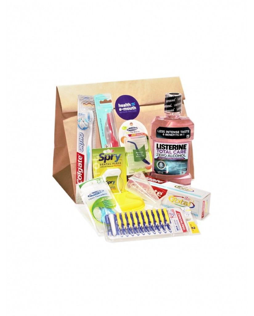 Health E-Mouth - Orthodontic Braces Supplies Pack