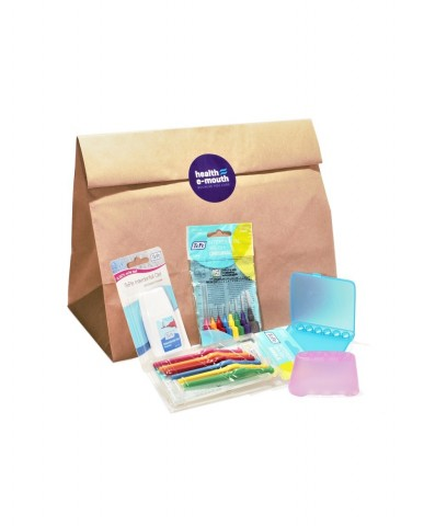 Health E-Mouth - TePe Interdental Brushes + Accessories Pack