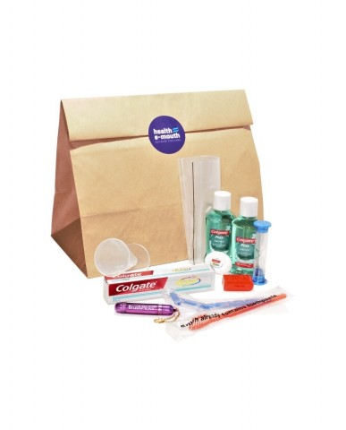 Health E-Mouth Travel / Overnight  Supplies Pack