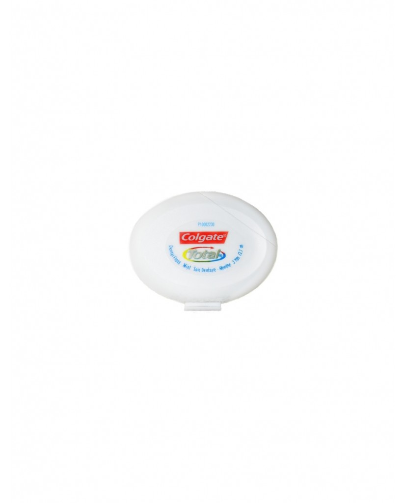 COLGATE Total Mint Waxed Dental Floss 2.7m - Travel Size