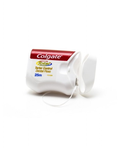 COLGATE Total Tartar Control Dental Floss 25m