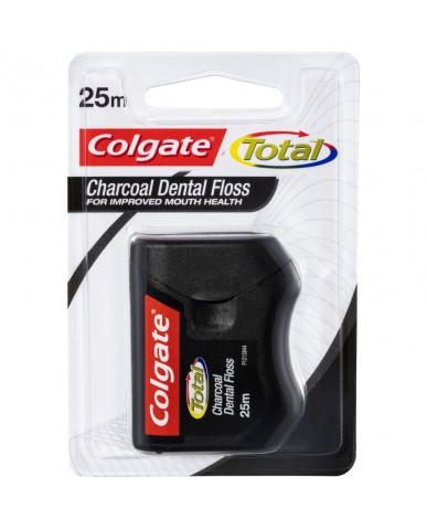 Colgate Total Charcoal Dental Floss 25m