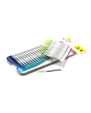 DentalPro Soft-Rubber Interdental Brush Size 2-4 (SS-M) - 0.8-1.2 mm