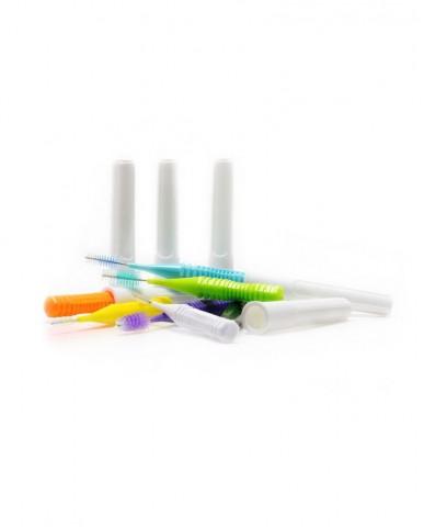DentalPro i Shape Interdental Brush Size 0 (SSSS) – 0.6 mm Black