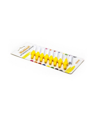 Stoddard Interdental Brush - Fine - Yellow 0.7mm