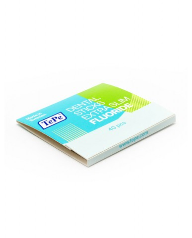 TePe Toothpicks X-Slim Fluoride - 40 Pack