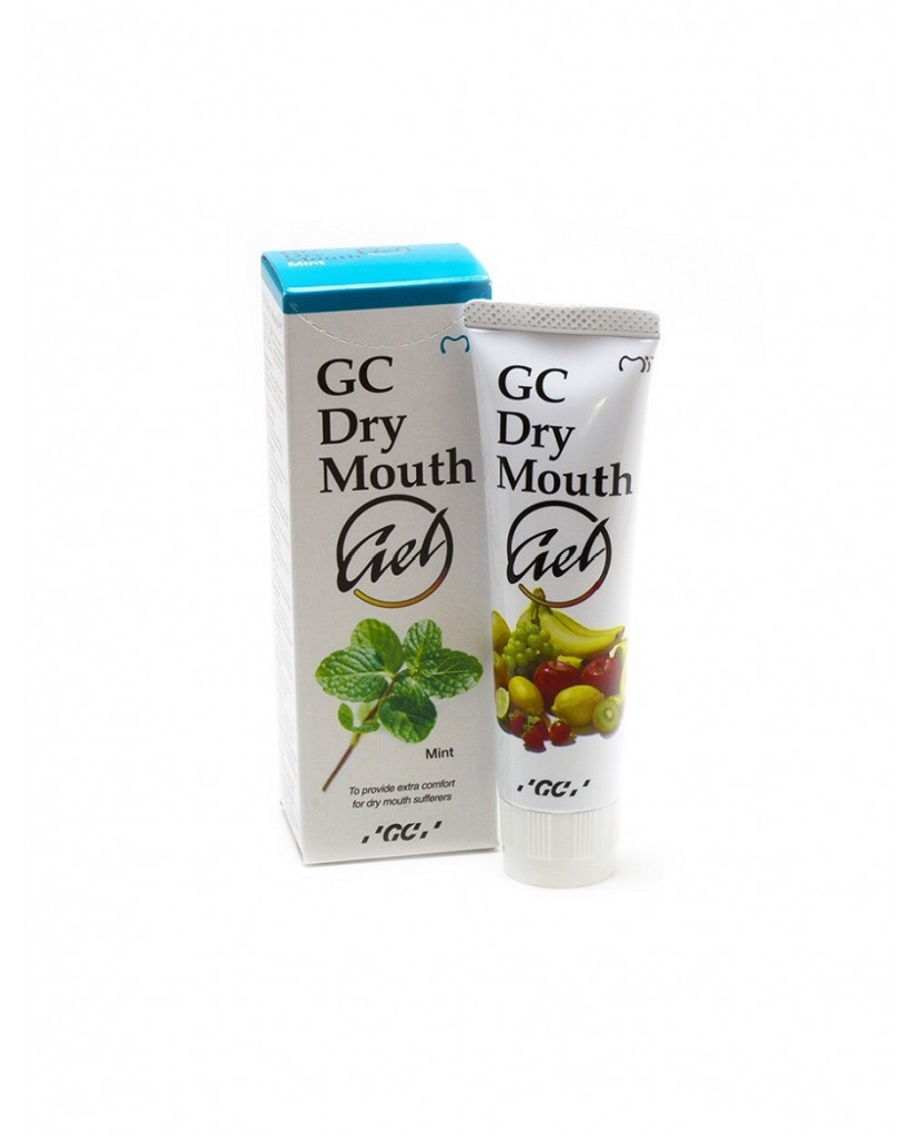 GC Dry Mouth Gel - 5 Flavours Collection