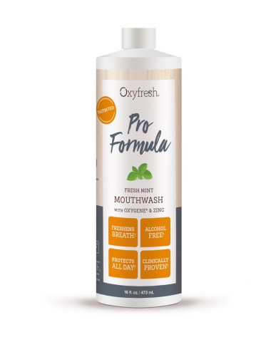 Oxyfresh Pro Formula Fresh Mint Mouthwash 473mL