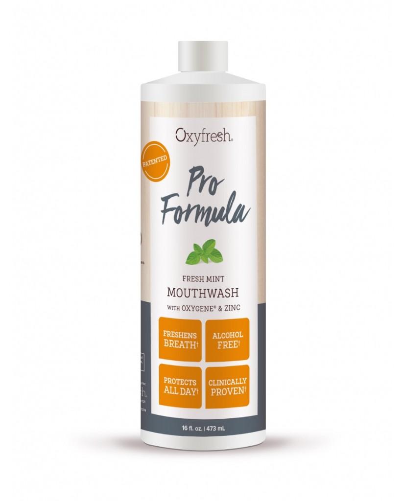 Oxyfresh Pro Formula Fresh Mint Mouthwash 473mL