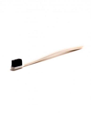 Grin Charcoal-Infused Biodegradable Toothbrush - Ivory Desert