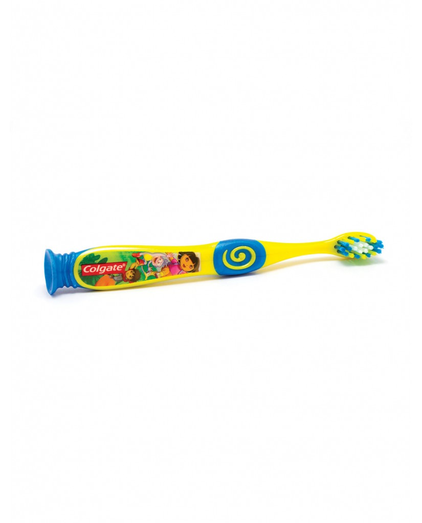 Health E-Mouth - 2-5 Years Diego Toothbrushes - Fluoride-Free or Fluoride Toothpaste Pack