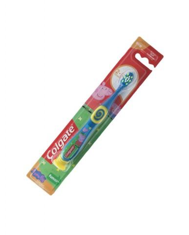 COLGATE Toothbrush 2-5 years - Peppa Pig - Blue-Yellow