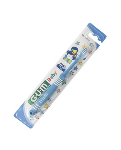 GUM Baby Toothbrush 0-2 years - Blue