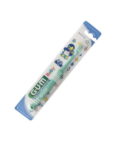GUM Baby Toothbrush 0-2 years - Green