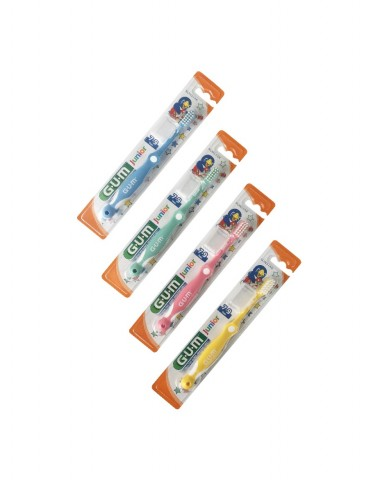 GUM Junior Toothbrush 7-9 years - Set of 4 ●●●Opened●●● 1 Set Only