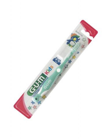 GUM Kids Toothbrush 3-6 years - Green