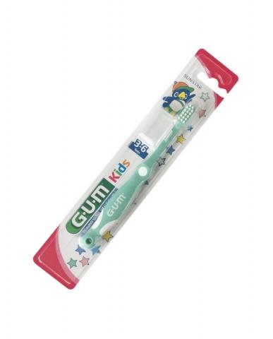 GUM Kids Toothbrush 3-6 years - Green