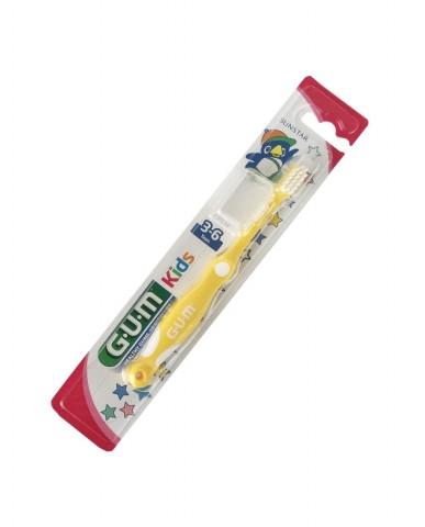 GUM Kids Toothbrush 3-6 years - Yellow