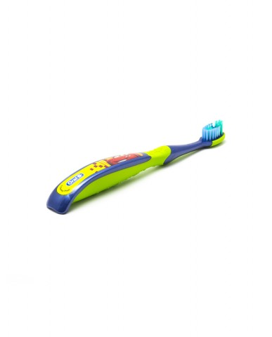 Oral-B Stages 3. Cars 5-7 years Soft - Blue/Green