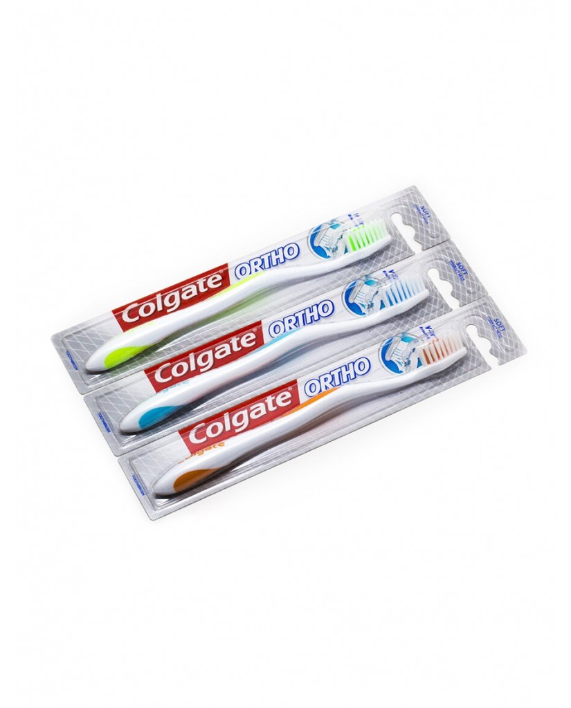 COLGATE V-Trim Ortho Brush - Green