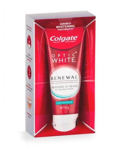 COLGATE Optic White Renewal Toothpaste 85g