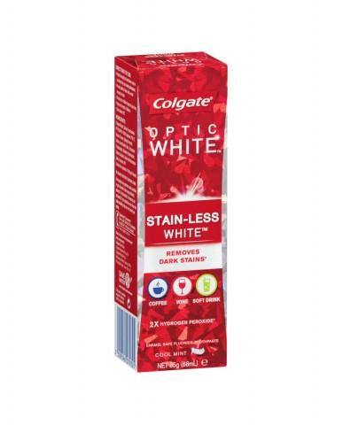COLGATE Optic White - Stain-Less White Toothpaste 85g
