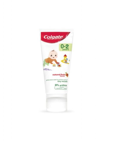 COLGATE Kids 0-2 Natural Fruit Toothpaste 50mL
