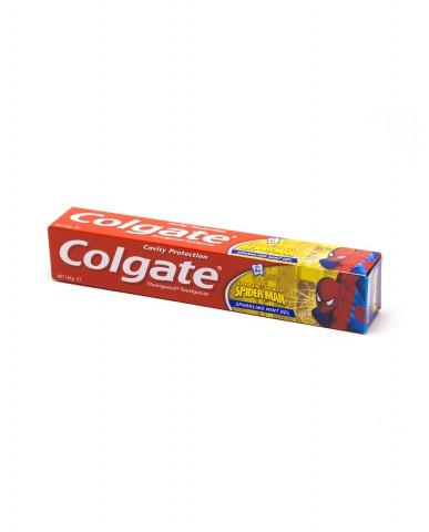 COLGATE Spiderman Sparkling Mint Gel Toothpaste - Ages 6+ 110g