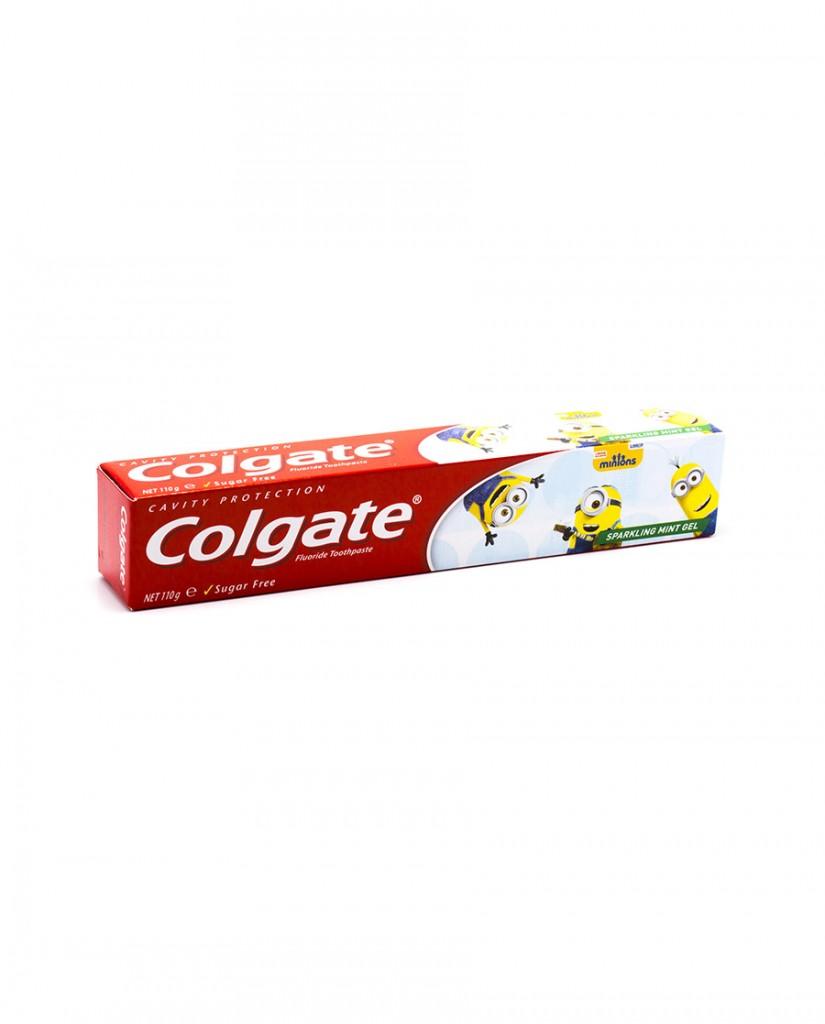 COLGATE Minions Sparkling Mint Gel Toothpaste 110g