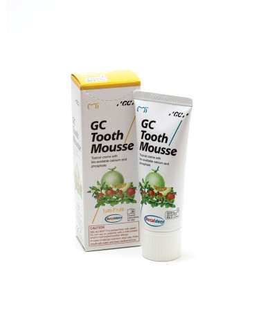 GC Tooth Mousse - Tutti-Fruitti 40g Tube