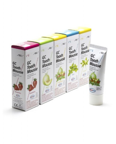 GC Tooth Mousse - 5 Flavours Pack - 40g Tubes