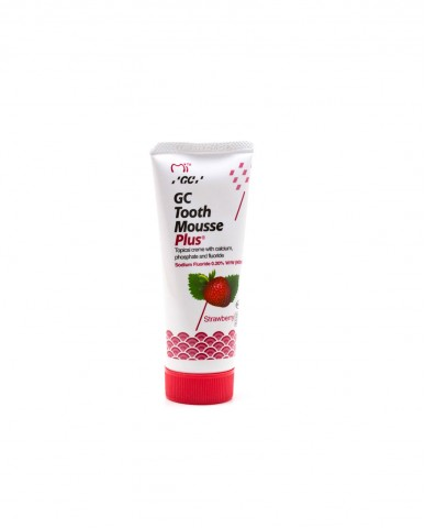 GC Tooth Mousse Plus - Strawberry 40g Tube ●OCTOBER 2019 EXPIRY DATE●