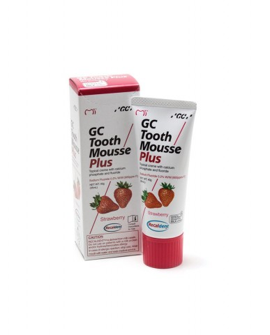 GC Tooth Mousse Plus - Strawberry 40g Tube