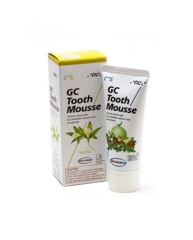 GC Tooth Mousse - Vanilla 40g Tube