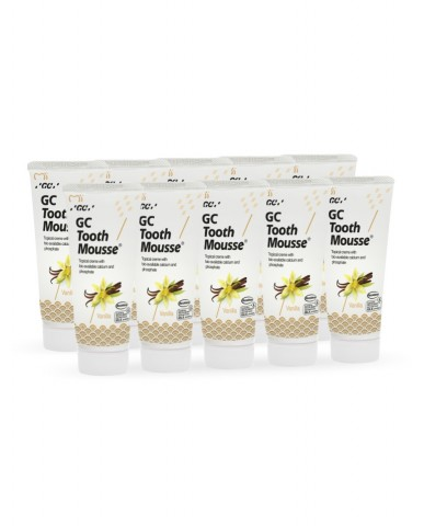 GC Tooth Mousse - Vanilla - 10 Pack - 40g Tubes